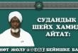 Судандык шейх Хамид